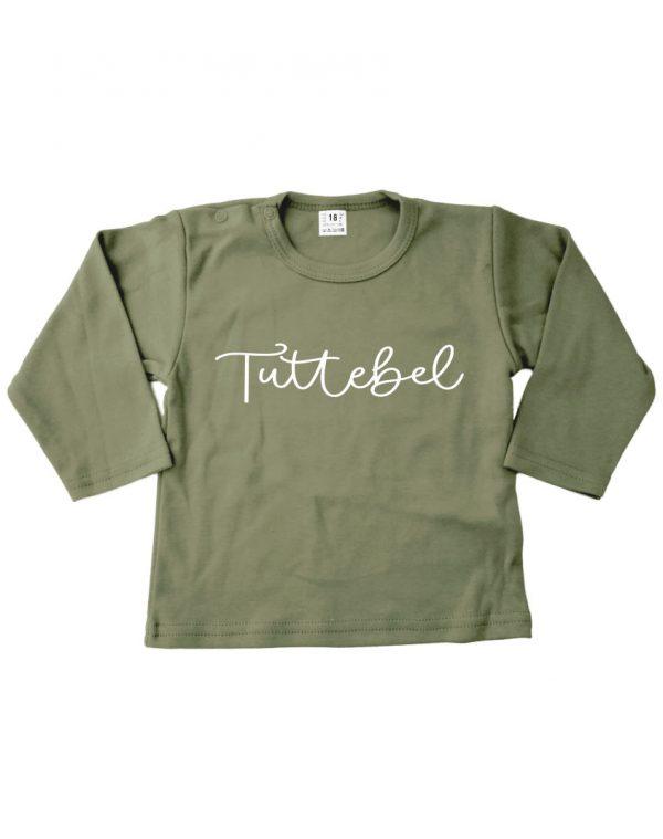 Tuttebel shirt groen